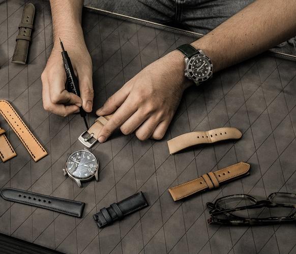 Làm dây da đồng hồ Handmade đơn giản tại nhà