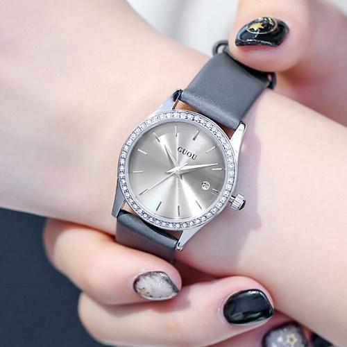 Dây da đồng hồ nữ
