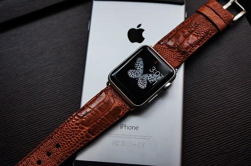 apple watch da đà điểu