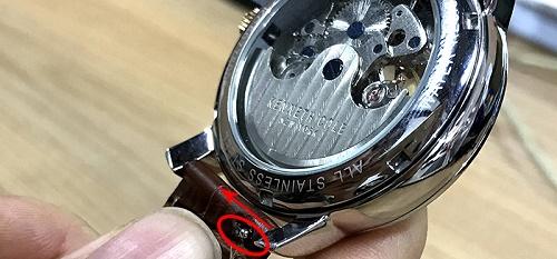 cách thay dây da đồng hồ