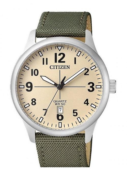dây đồng hồ citizen dây vải