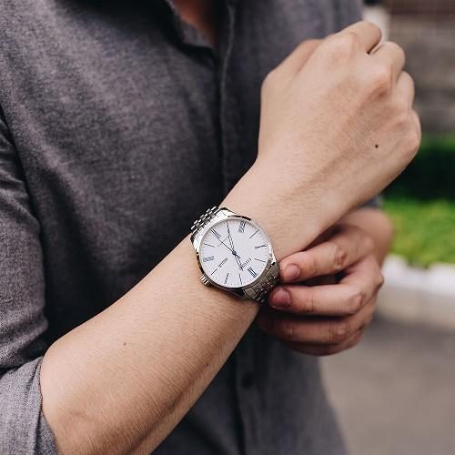 dây đồng hồ citizen kim loại