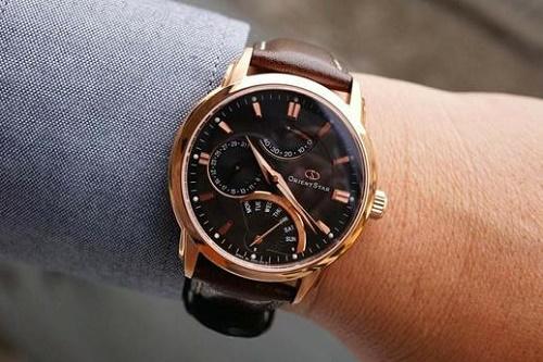 dây da đồng hồ orient cho nam