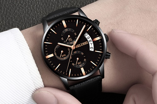 cách đeo đồng hồ nam