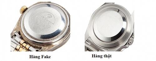 phân biệt đồng hồ rolex