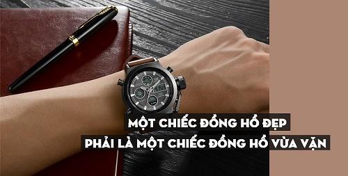 chọn đồng hồ phù hợp với cổ tay