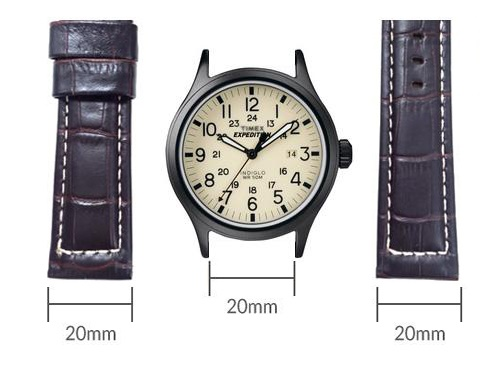 đo chiều rộng mặt dây đồng hồ